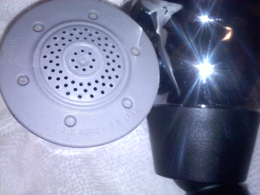 Old and New Showerheads Compared