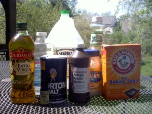Common Household Items Make Great Cleaning Products